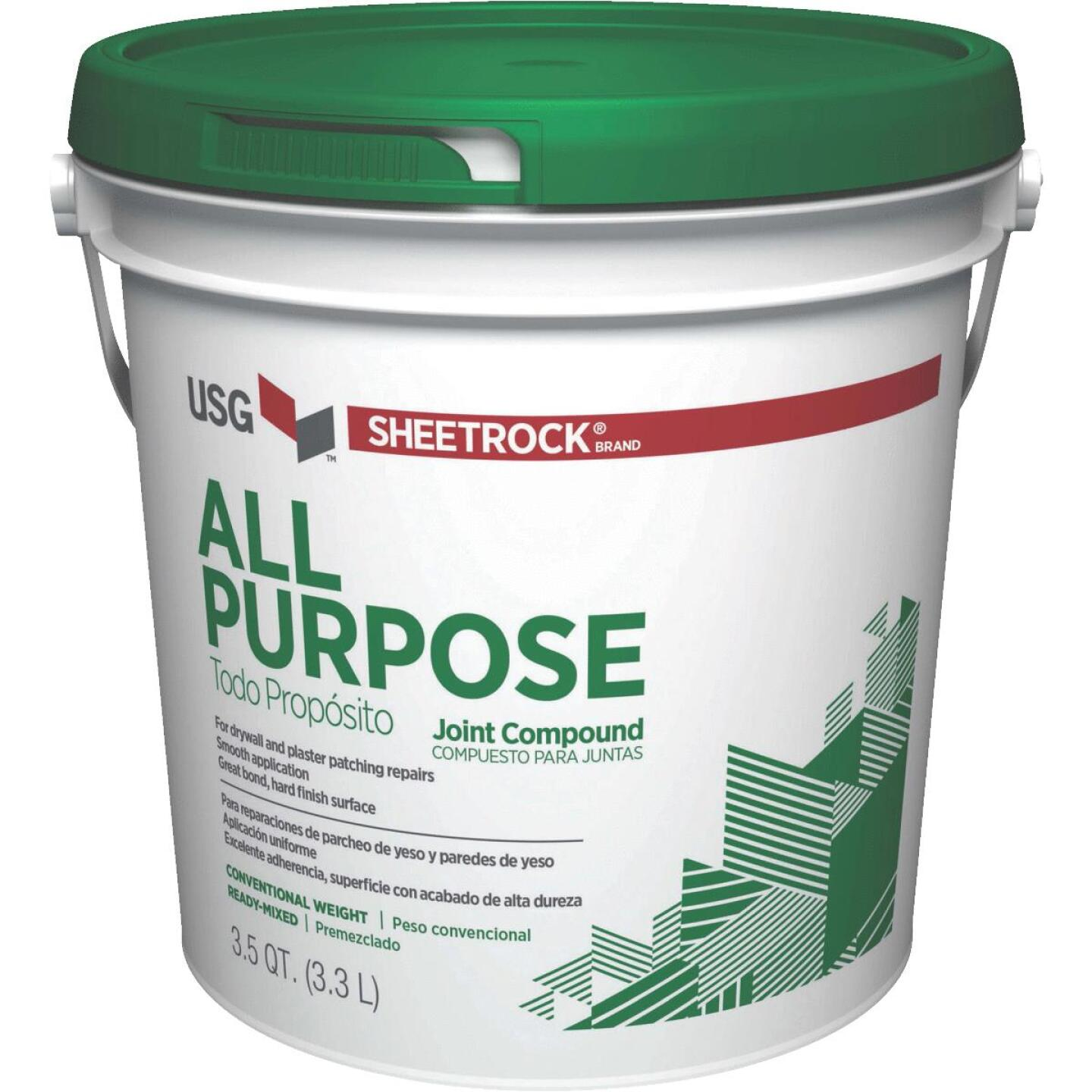 Sheetrock 3.5 Qt. Pre-Mixed All-Purpose Drywall Joint Compound Image 1