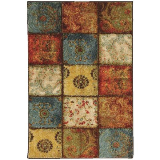 Mohawk Home Artifact Multi-Panel 2 Ft. 6 In. x 3 Ft. 10 In. Accent Rug