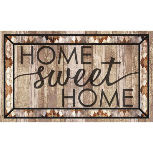 Mohawk Home 18 In. x 30 In. Rustic Sweet Home Welcome Door Mat