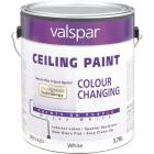 Valspar Color Changing Latex Flat Ceiling Paint, White, 1 Gal. Image 1